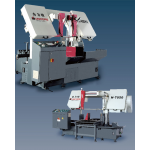 Large-scale vertical band saw machine